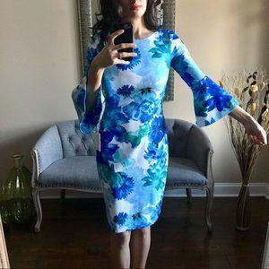 Calvin Klein Blue Dress Size 14